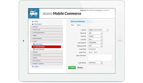 Mobile Commerce Powerful yet easy delivery route sales App